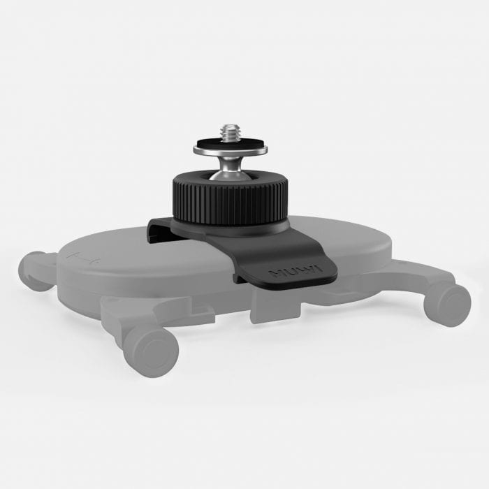 Swivel Clip is a flexible camera mount accessory for MUWI.