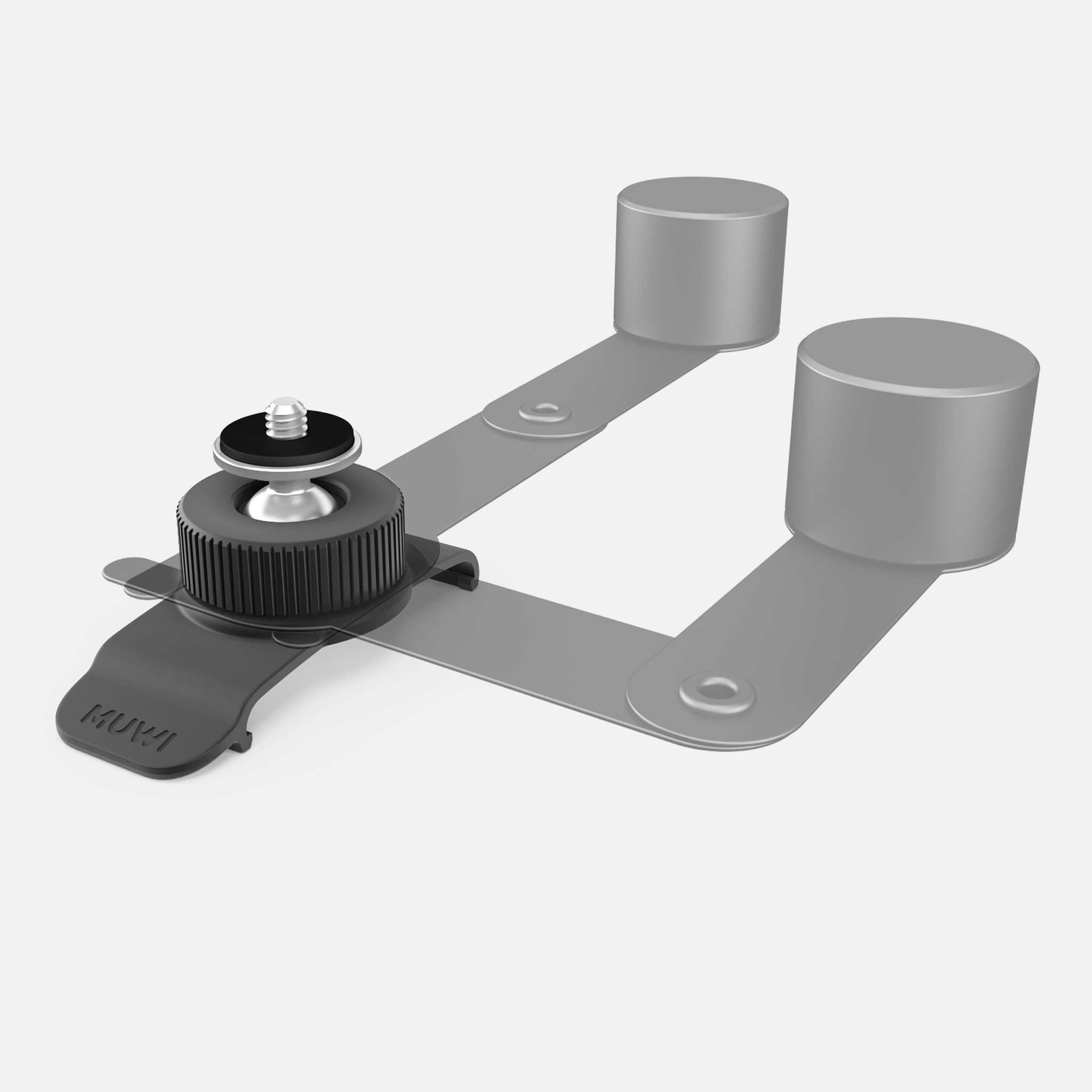 Swivel Clip is compatible with Muwi, Flow, Flow X, Track and Counter Balance Module