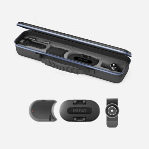 Muwi's entry level kit includes motorized module Flow with its own carry bag