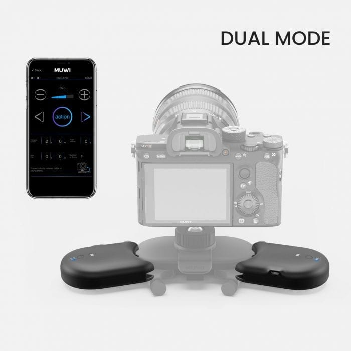 Capture smooth motion pictures, time-lapse videos, and stop motions hands-free with Flow X.