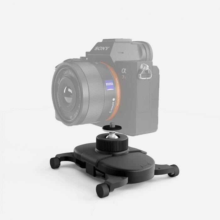 With Swivel Clip, you can use your Muwi with your favorite camera