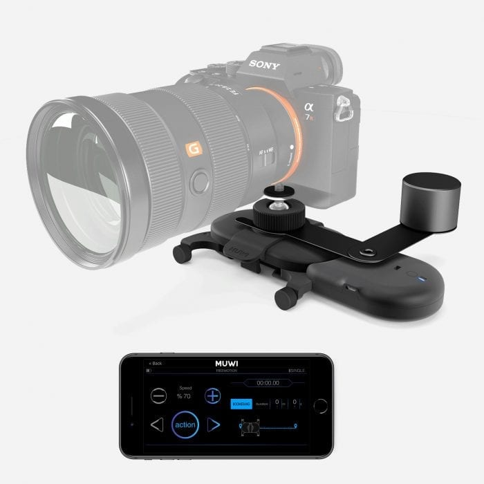Control your Flow X with Muwi App to achieve smooth camera motions wirelessly