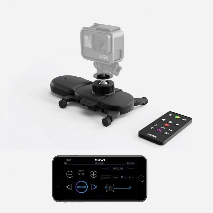 Muwi, Flow X, and Swivel Clip together is all you need to capture cinematic videos