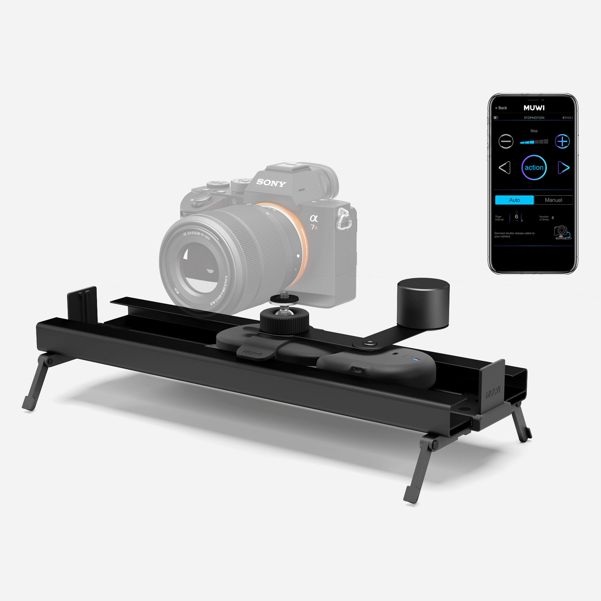 Full Pack Small converts your MUWI into a compact slider