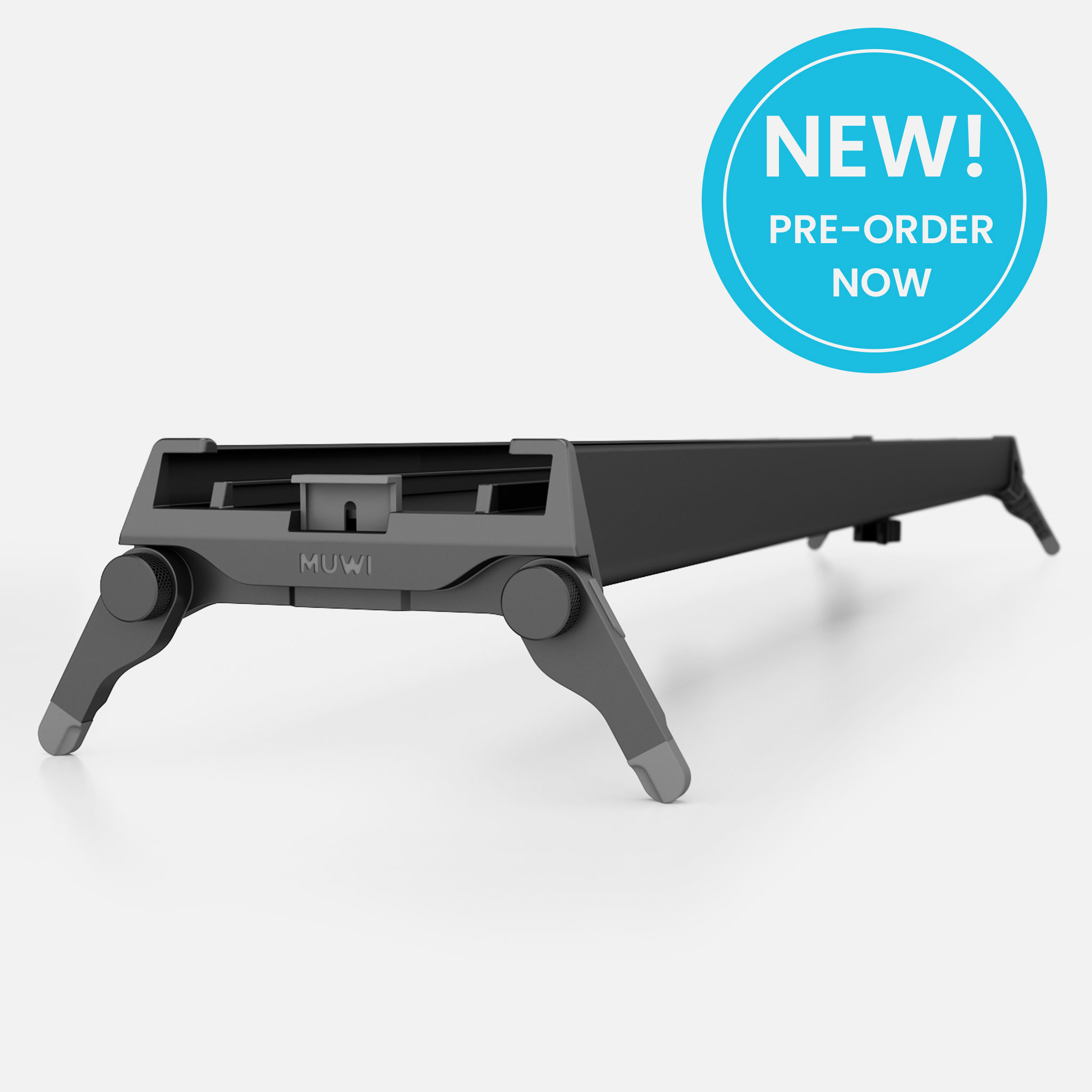 The world's first foldable slider Track X will turn your MUWI into a lightweight and portable slider.