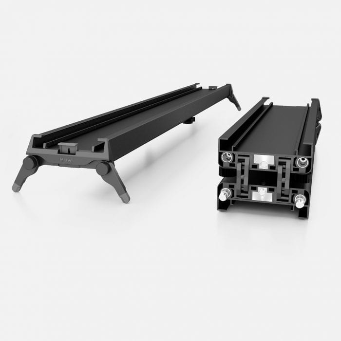 The world's first foldable slider Track X is designed for both outdoor and indoor.