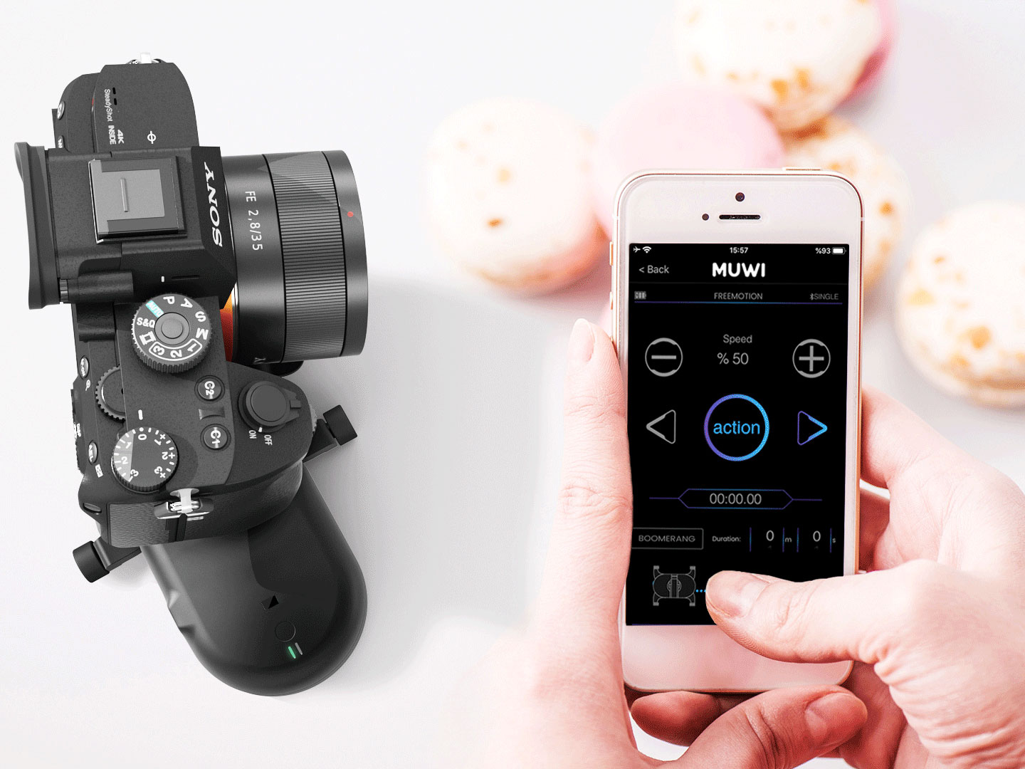 You can achieve motorized truck, pan and dolly shots by using Flow X with MUWI.