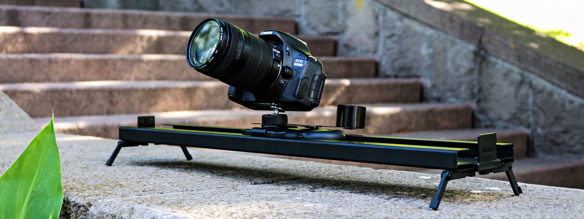 Track is portable, lightweight and easy to setup slider designed for MUWI