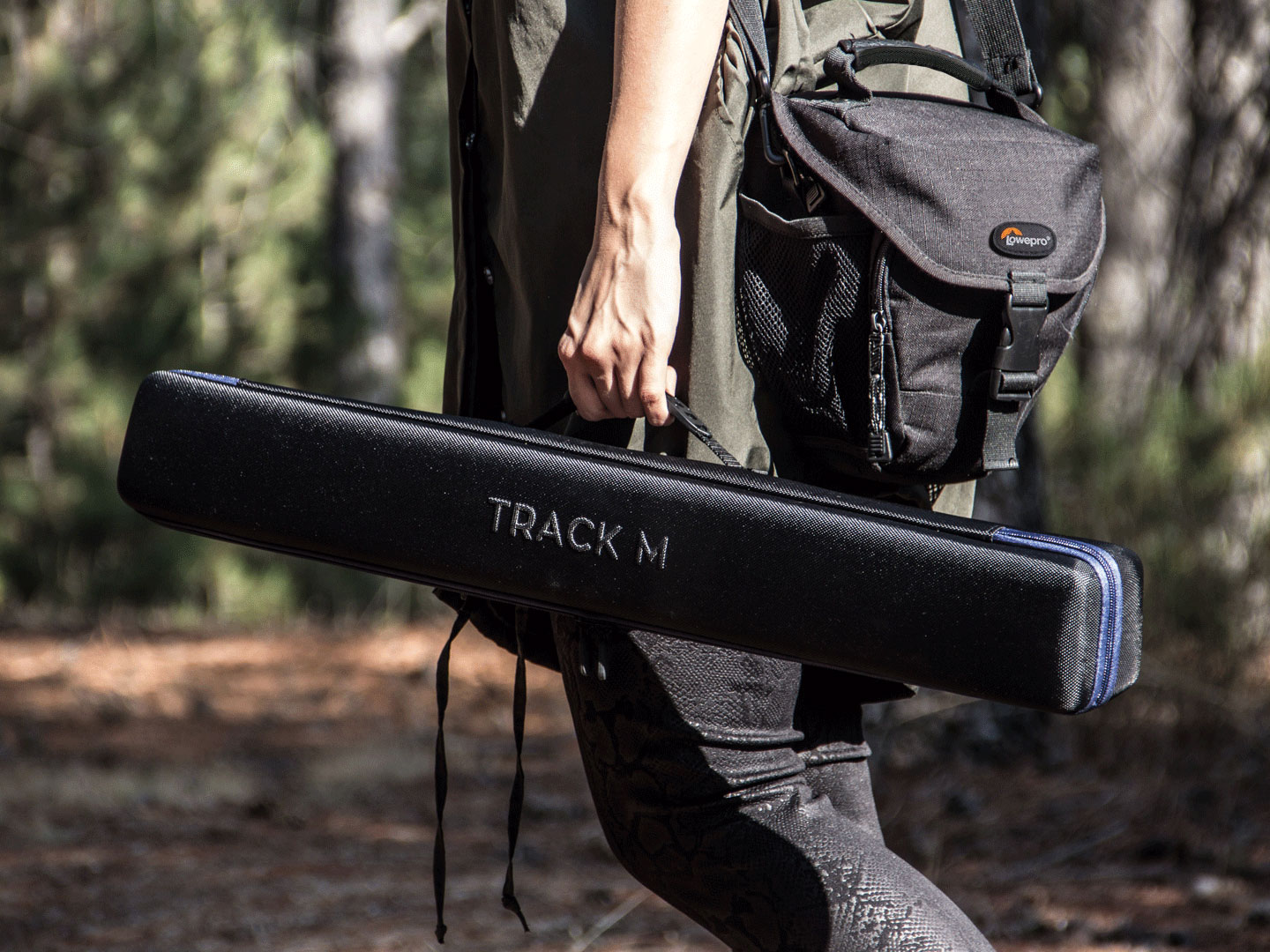 Carry your portable and easy to setup MUWI Track with specially designed carry bag.